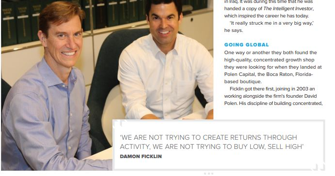 Image of Polen Portfolio managers Mueller and Ficklin